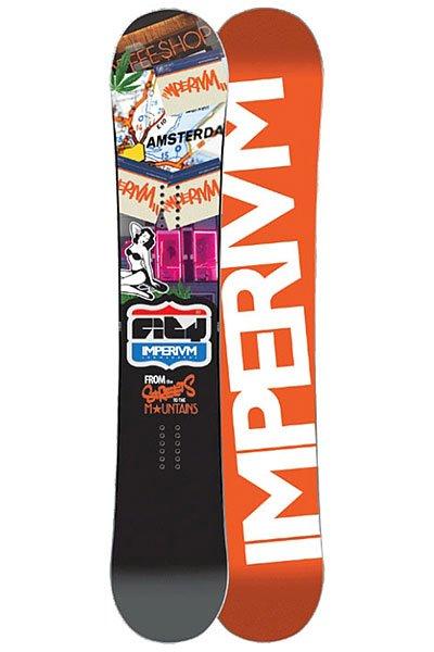 Сноуборд Imperivm City Series Amsterdam 157 Orange/Multicolor