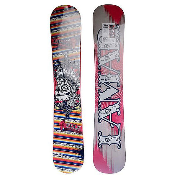 Сноуборд Lamar Fixx Anti Cam Sidewall 161 Multicolor
