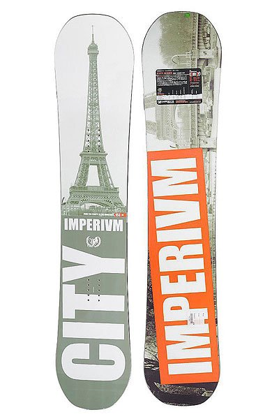 Сноуборд Imperivm City Rc 153 Grey/Orange