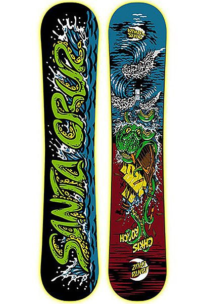 Сноуборд Santa Cruz Chris Roach Ghostship 156 Multicolor от Proskater
