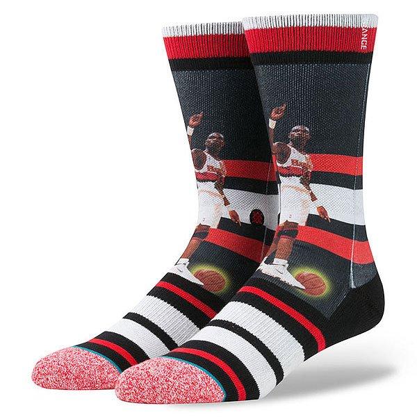 Носки средние Stance Nba Legends Dikembe Mutombo Tradin Red<br><br>Цвет: черный,красный,серый,белый<br>Тип: Носки средние<br>Возраст: Взрослый<br>Пол: Мужской