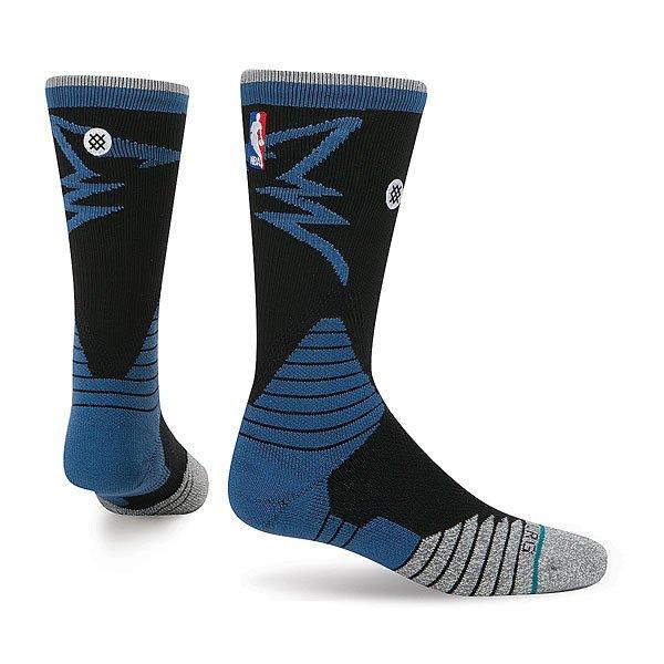 Носки средние Stance Nba Oncourt Logo Crew Wolves Blue<br><br>Цвет: черный,синий,серый<br>Тип: Носки средние<br>Возраст: Взрослый<br>Пол: Мужской