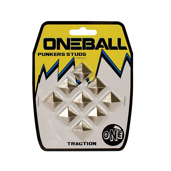 Наклейки на сноуборд Oneball Traction - Punker Studs Assorted парафин oneball 4wd warm assorted