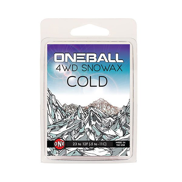 Парафин Oneball 4wd - Cold Mini Assorted парафин oneball 4wd warm assorted