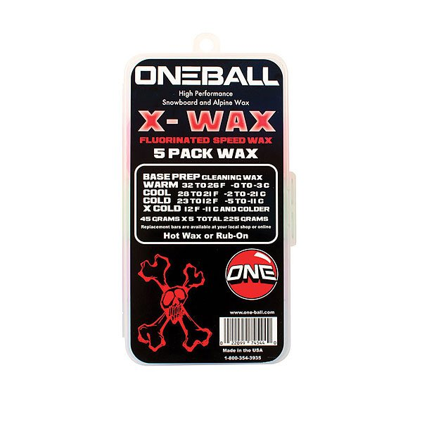 Парафин Oneball X-wax - 5 Pack Assorted от Proskater