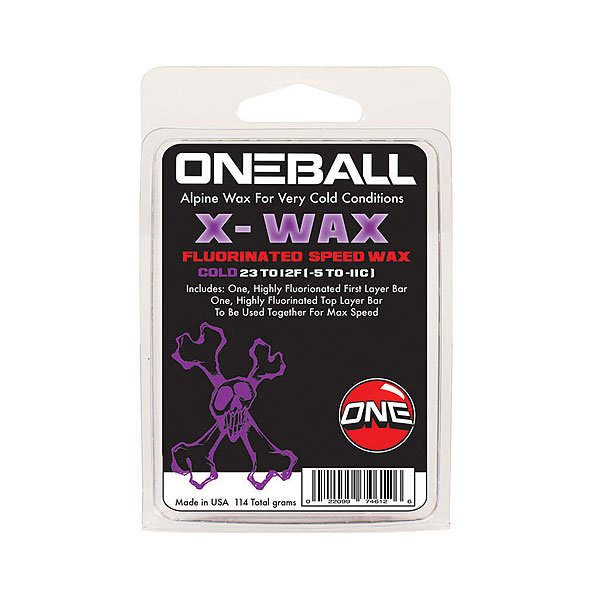 Парафин Oneball X-wax - Cold Assorted от Proskater