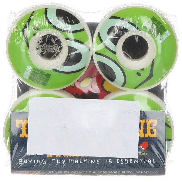 Колеса для скейтборда для скейтборда Toy Machine Turtle Head Natural 50 mm