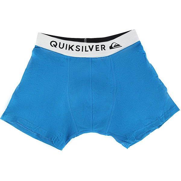 Трусы детские Quiksilver Boxer Edition Imperial Blue<br><br>Цвет: синий<br>Тип: Трусы<br>Возраст: Детский