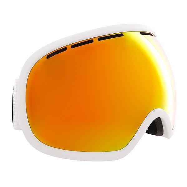 Маска для сноуборда Von Zipper Fishbowl White Satin/Fire Real ChromeБольшая маска с широкими вентилируемыми линзами и отличным периферийным обзором для повышенной остроты зрения! Удобная маска для любых условий.Технические характеристики: Эргономичная оправа из термополиуретана.100% защита от ультрафиолетовых лучей.Двойные сферические линзы из поликарбоната.Максимальное периферийное зрение.Вентиляция для максимального воздушного потока.Покрытие против запотевания Anti-Fog.Тройной слой пены и слой флиса.Двойной регулируемый ремень.Маска совместима со шлемом.Чехол из микрофибры.<br><br>Цвет: черный<br>Тип: Маска для сноуборда<br>Возраст: Взрослый<br>Пол: Мужской
