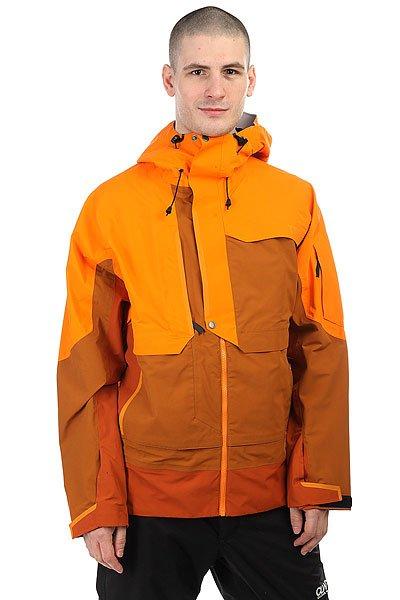 Куртка утепленная Trew Gear Beast SunriseTREW GEAR позиционируют себя, как одежда для фрирайдеров, для тех, кто любит и понимает горы, не зависимо от того, сноубордист ты или лыжник.Поэтому это функциональная, долговечная и стильная одежда. Сочетание высокотехнологичных материалов и не шаблонный стиль – это и есть Trew gear.Характеристики:Мембрана Entrant Dermizax 20k x 20k.Молнии YKK Aquaguard. Проклеенные ветро- водонепроницаемые швы и молнии. Снегозащитная юбка. Вентиляционные отверстия подмышками на молнии.Большие внутренние карманы для маски. Липучки на манжетах. Высокий воротник. Регулируемый капюшон с утяжкой. 4 наружных кармана. Карман для ски-пасса.<br><br>Цвет: оранжевый,коричневый<br>Тип: Куртка утепленная<br>Возраст: Взрослый<br>Пол: Мужской