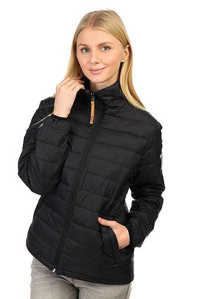 Куртка женская Colour Wear Feather Black<br><br>Цвет: черный,синий<br>Тип: Куртка<br>Возраст: Взрослый<br>Пол: Женский