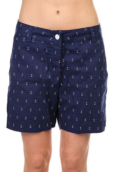 Шорты классические женские Colour Wear Whiff Shorts Patriot<br><br>Цвет: синий<br>Тип: Шорты классические<br>Возраст: Взрослый<br>Пол: Женский