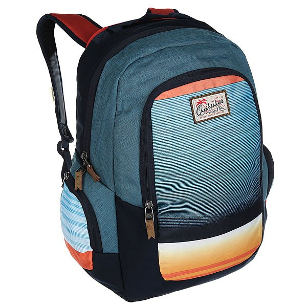 Рюкзак городской Quiksilver Schoolie Nasturticm Everyday сумка дорожная quiksilver horizon nasturticm everyday