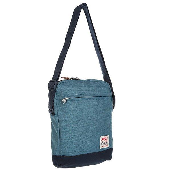 Сумка для документов Quiksilver Magic Xl Vallarta BlueМужская вместительная сумка Quiksilver из коллекции для путешествий.Характеристики:Материал: Полиэстер 600D.Основное отделение на молнии. Регулируемый ремень.<br><br>Цвет: синий<br>Тип: Сумка для документов<br>Возраст: Взрослый<br>Пол: Мужской