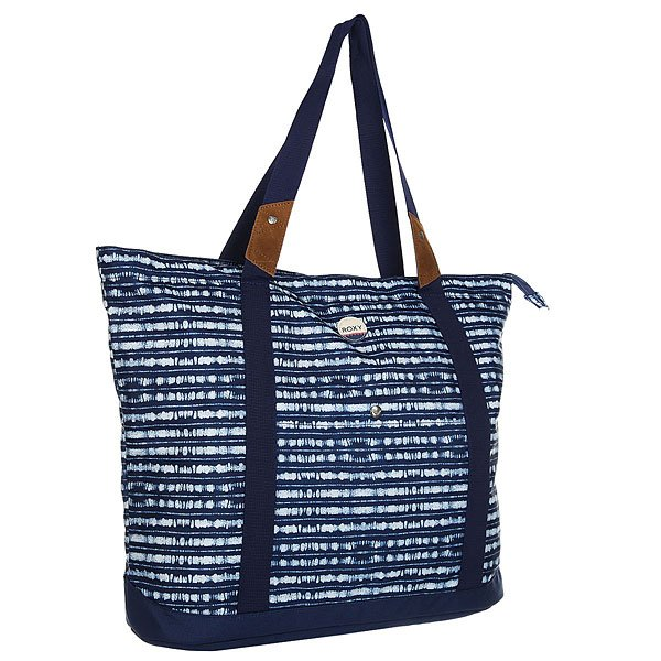 Сумка женская Roxy Other Side Blue Depths Olmeque roxy сумка женская roxy needle tote patriot blue