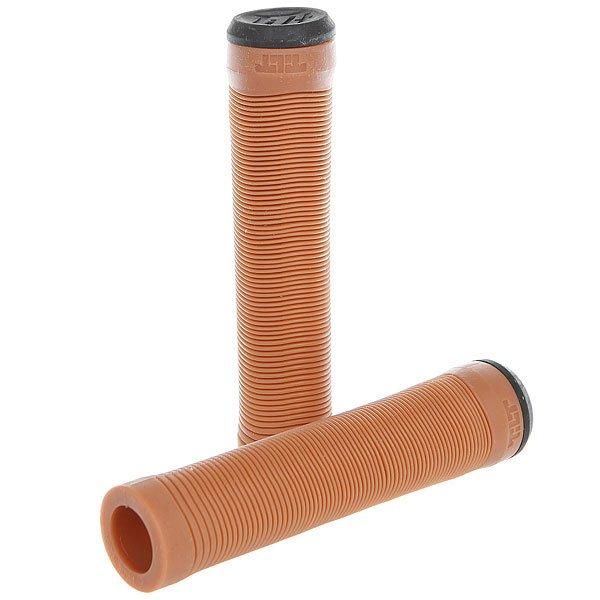 Грипсы Tilt Continental Grips GumМягкие грипсы из полиуретана для вашего самоката.Характеристики:Материал: полиуретан. Пластиковые заглушки в комплекте.<br><br>Цвет: коричневый<br>Тип: Грипсы