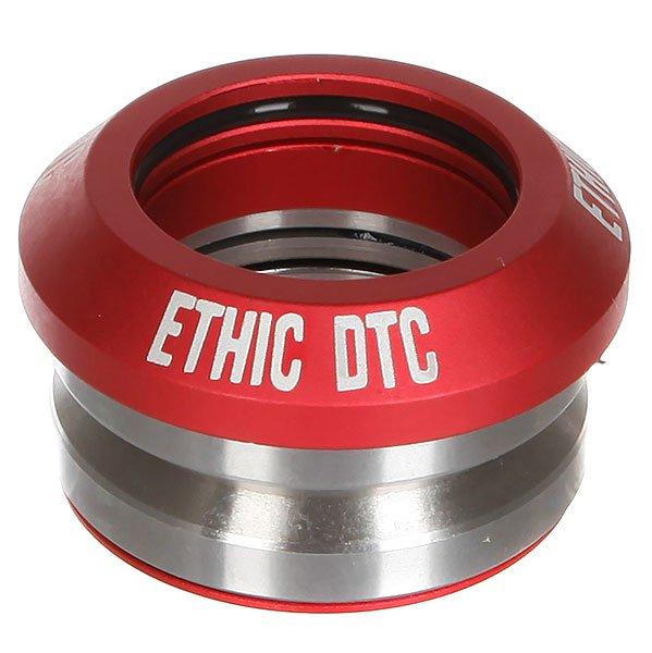 Рулевая Ethic Headset Cheap RedЛегкая рулевая из алюминия. Характеристики:Алюминий 6061.Вес 61 гр. Совместимость с интегрированной рулевой.<br><br>Цвет: красный,серый<br>Тип: Рулевая<br>Возраст: Взрослый<br>Пол: Мужской