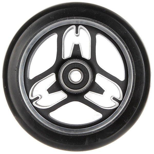 Колесо для самоката Ethic Eponymous Wheel 110mm 88a Black Core And Raw LineПолиуретановое колесо с 6 спицами. Характеристики:Жёсткость - 88А. Диаметр - 110 мм. Вес - 218 г.<br><br>Цвет: черный<br>Тип: Колесо для самоката<br>Возраст: Взрослый<br>Пол: Мужской
