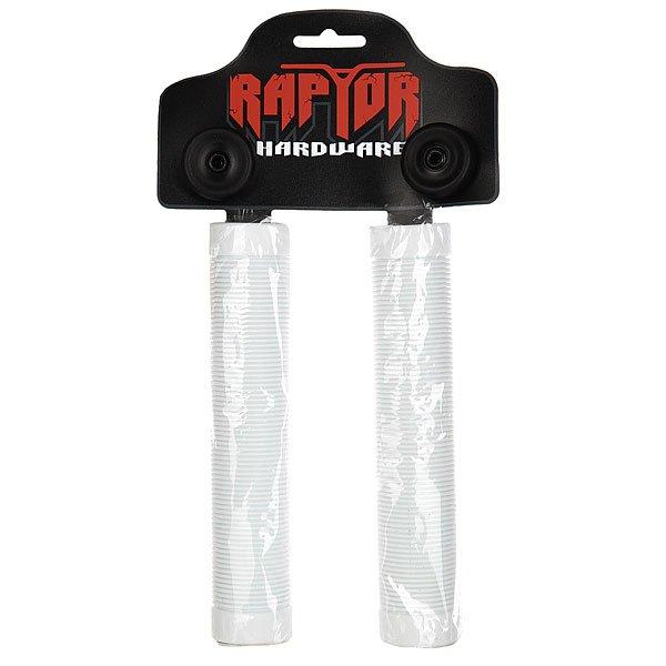 Грипсы Ao Raptor Tail Long Grip WhiteДлинные грипсы для самоката Raptor больше на 25% по сравнению с традиционными. Грипсы Raptor выдерживают интенсивные нагрузки за счет толщины стенок, дарят удивительную чувствительность и сцепление.Технические характеристики: Длина 170 мм.Поглощают удары.Высокая износоустойчивость.<br><br>Цвет: белый<br>Тип: Грипсы<br>Возраст: Взрослый<br>Пол: Мужской