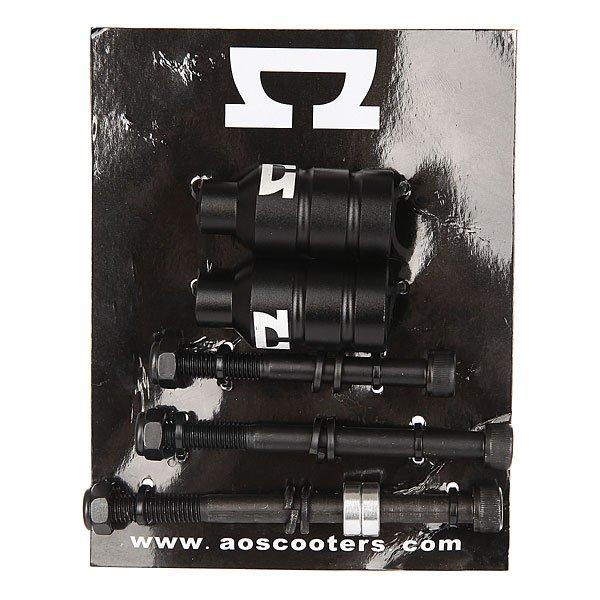 """Пеги для самоката Ao Peg Kit (2 Pcs) BlackПеги из высококачественного алюминия в комплекте с 3 болтами M8, которые подойдут для любого размера деки.Технические характеристики: Высококачественный алюминий 6061 T6.3 болта М8 из высокопрочной хромированной стали для максимальной прочности.Размеры болтов: 3 3/4"""" (95,25 мм), 3 1/8"""" (79.38 мм), 2 3/8"""" (60.38 мм).<br><br>Цвет: черный<br>Тип: Пеги для самоката<br>Возраст: Взрослый<br>Пол: Мужской"""