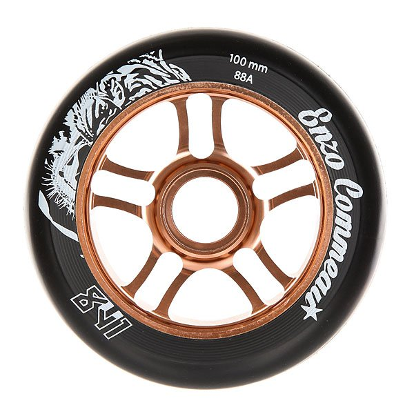 Колесо для самоката Ao Enzo Wheel 100mm BronzeПервая модель, названная в честь Enzo Commeau - одного из самых популярных райдеров во все времена. Качественные колеса для уличного катания. Что может быть лучше?Технические характеристики: Сердечник из алюминия 6061 T6.Жесткость 88A.<br><br>Цвет: черный,коричневый<br>Тип: Колесо для самоката<br>Возраст: Взрослый<br>Пол: Мужской