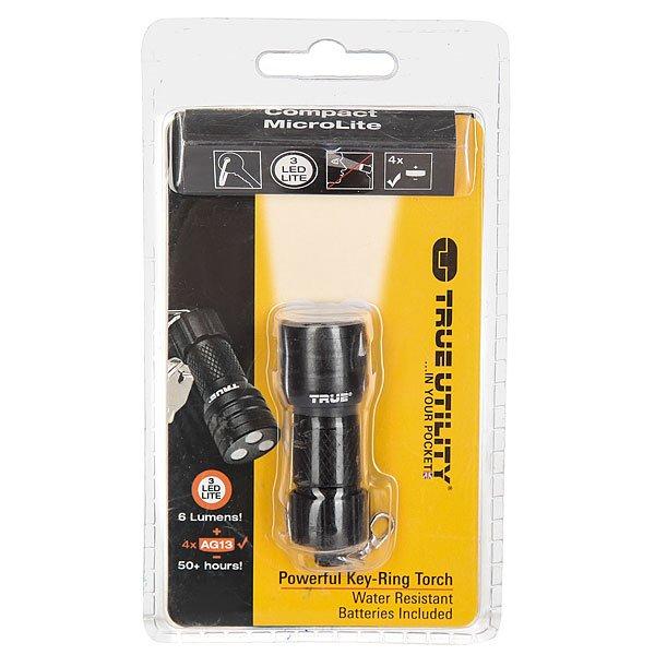 Брелок True Utility Compact Microlite Black<br><br>Цвет: черный<br>Тип: Брелок<br>Возраст: Взрослый