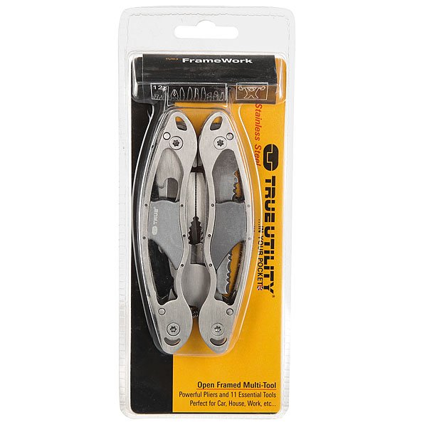 Нож True Utility Dogtag Tool Grey<br><br>Цвет: серый<br>Тип: Нож<br>Возраст: Взрослый