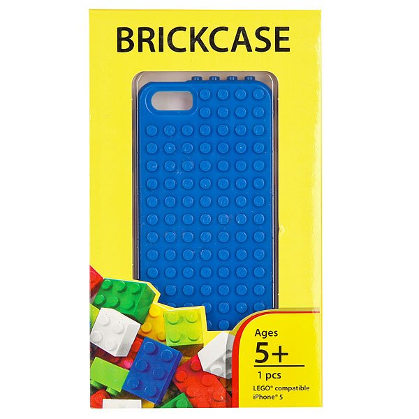 Чехол для iPhone 5 Smallworks BrickPhone5 Blue
