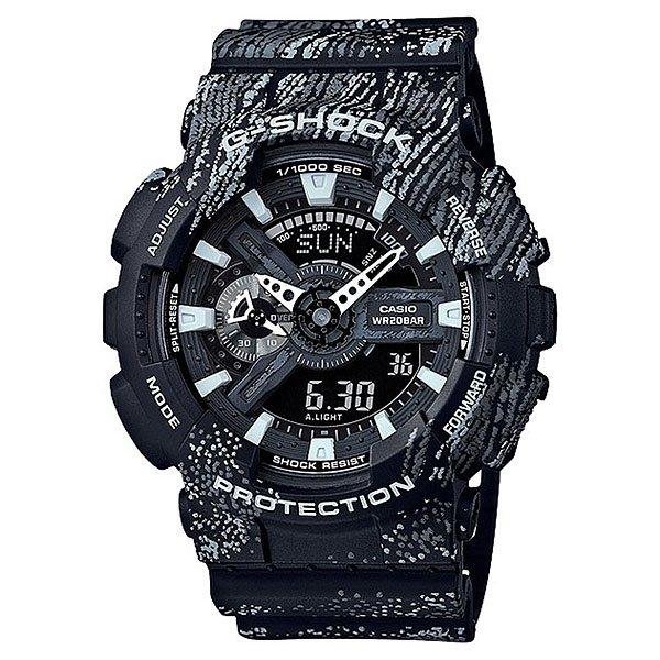 Электронные часы Casio G-Shock Ga-110tx-1a Black/GreyНадежные часы в свободном дизайне для тех, кто любит новинки и ценит спортивный стиль.Технические характеристики: Автоматическая светодиодная подсветка.Ударопрочная конструкция защищает от ударов и вибрации.Устойчивость к воздействию магнитного поля.Функция мирового времени.Функция секундомера - 1/1000 сек. - 100 часов.Таймер - 1/1 мин. - 24 часа (с автоматическим повтором).5 ежедневных будильников.Функция повтора будильника.Почасовой сигнал времени.Отображение скорости.Автоматический календарь.12/24-часовое отображение времени.Минеральное стекло.Корпус из полимерного пластика.Ремешок из полимерного материала.Точность: ±15 секунд в месяц.Срок службы батареи 2 года.<br><br>Цвет: серый,черный<br>Тип: Электронные часы<br>Возраст: Взрослый<br>Пол: Мужской