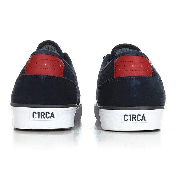 Кеды кроссовки низкие Circa Essential Dress Blue/Ribbon Red от Proskater