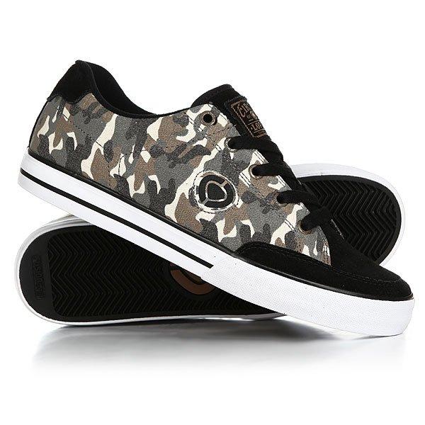 Кеды кроссовки низкие Circa Lopez 50 Slim Camo/Black