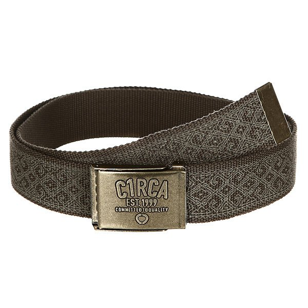 Ремень Circa Printed Belt Chocolate