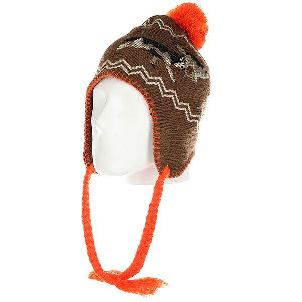 Шапка ушанка Ashbury Hunt Beanie Brown<br><br>Цвет: коричневый,мультиколор<br>Тип: Шапка ушанка<br>Возраст: Взрослый<br>Пол: Мужской