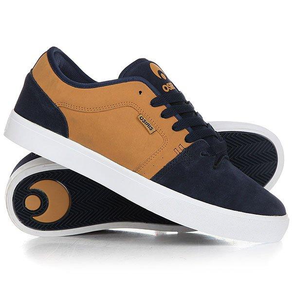 Кеды кроссовки низкие Osiris Decay Tan/Navy/White<br><br>Цвет: коричневый,синий<br>Тип: Кеды низкие<br>Возраст: Взрослый<br>Пол: Мужской