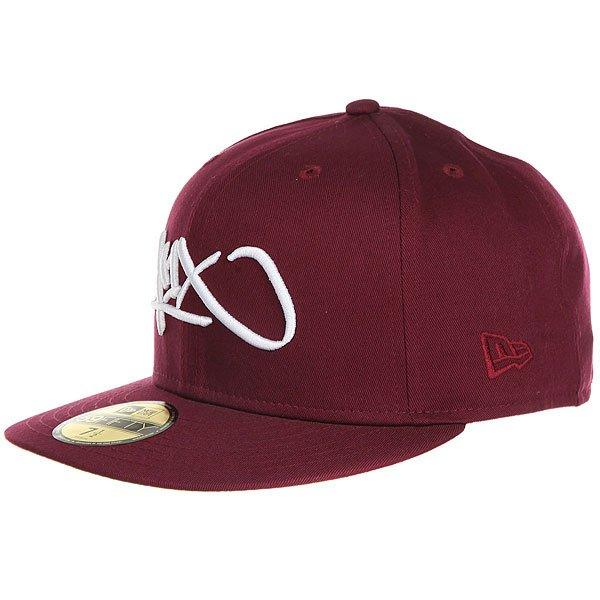 Бейсболка с прямым козырьком K1X Tag Logo 59/50 Burgundy<br><br>Цвет: бордовый<br>Тип: Бейсболка с прямым козырьком<br>Возраст: Взрослый<br>Пол: Мужской