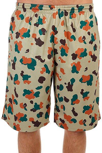 Шорты классические K1X Pacific Shorts Camo<br><br>Цвет: черный,коричневый,зеленый<br>Тип: Шорты классические<br>Возраст: Взрослый<br>Пол: Мужской