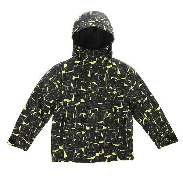 Куртка утепленная детская Billabong Miracle Printed Lime