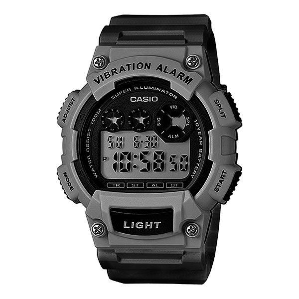 цена на Электронные часы Casio Collection W-735h-1a3 Grey/Black