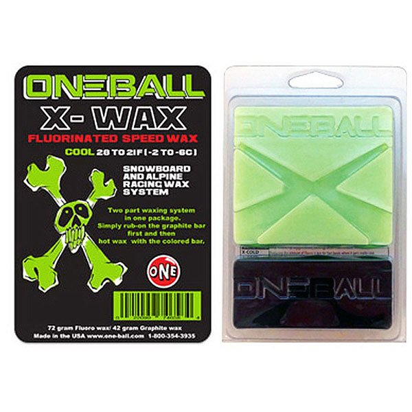 Парафин Oneball Bulk X-wax Cool Assorted парафин oneball 4wd warm assorted