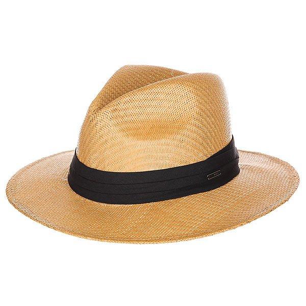 Шляпа женская Roxy Here Natural<br><br>Цвет: коричневый<br>Тип: Шляпа<br>Возраст: Взрослый<br>Пол: Женский