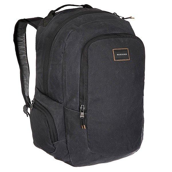Рюкзак городской Quiksilver Schoolie Oldy Black городской рюкзак deuter giga с отделением для ноутбука серый 28 л 80414 7712