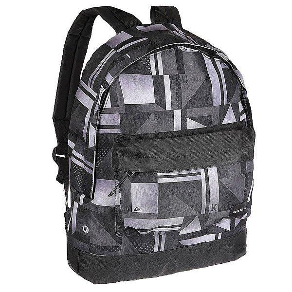 Рюкзак городской Quiksilver Everyday Poster Black MirorКомпактный и удобный рюкзак на каждый день. Рюкзак без лишних деталей позволит использовать его пространство так, как Вам нужно, на тренировку, на учебу или в поездку!Технические характеристики: Прочный полиэстер 600D.Основное отделение на молнии.Передний карман на молнии.Регулируемые плечевые ремни.Логотип Quiksilver.<br><br>Цвет: ,черный,белый,серый<br>Тип: Рюкзак городской<br>Возраст: Взрослый