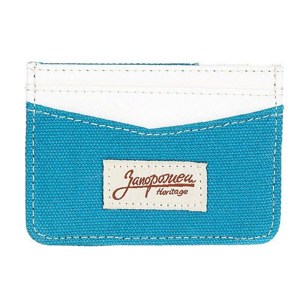 Визитница Запорожец Card Holder Blue/Brown<br><br>Цвет: синий<br>Тип: Визитница<br>Возраст: Взрослый<br>Пол: Мужской