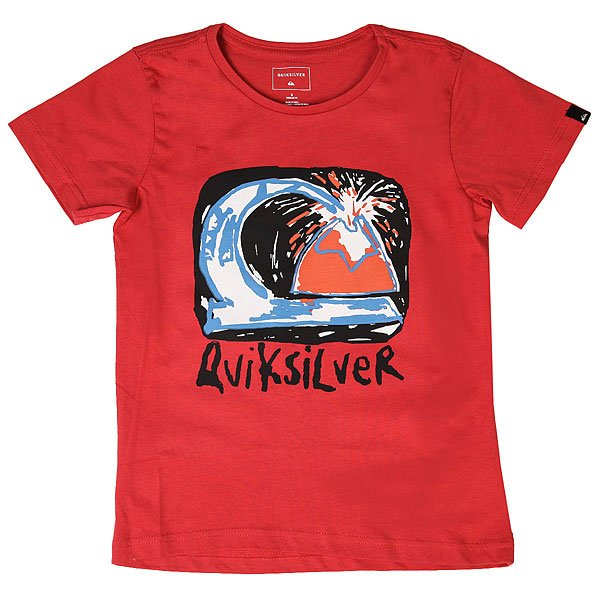 Футболка детская Quiksilver Sscltebomagicvo Cardinal<br><br>Цвет: красный<br>Тип: Футболка<br>Возраст: Детский