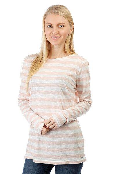 Лонгслив женский Roxy Zarauz Beat Str Stephanies Stripe Co Pink<br><br>Цвет: белый,розовый<br>Тип: Лонгслив<br>Возраст: Взрослый<br>Пол: Женский