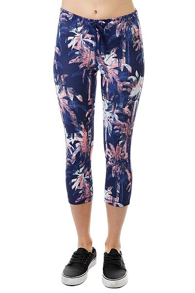 Фото #1: Леггинсы женские Roxy Stay On Capri J Pant Blue Depths Washed