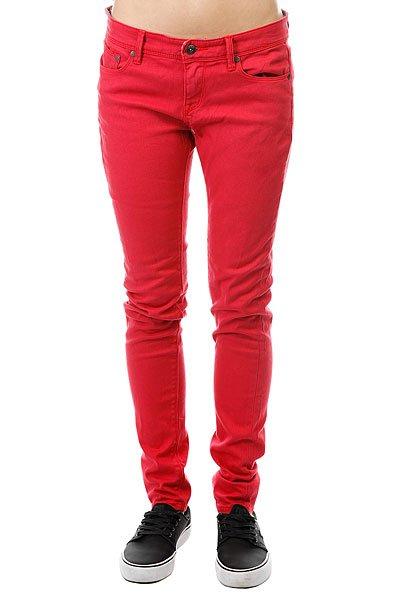 Джинсы узкие женские Roxy Suntrippercolor J Pant Hibiscus штаны широкие женские roxy harmonize j pant bleached sand