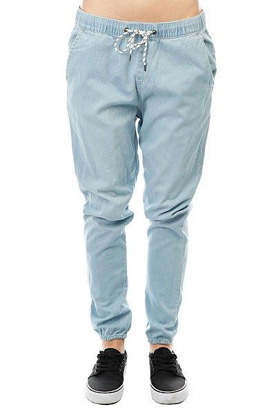 Штаны прямые женские Roxy Easybeachydenim J Pant Light Blue<br><br>Цвет: голубой<br>Тип: Штаны прямые<br>Возраст: Взрослый<br>Пол: Женский