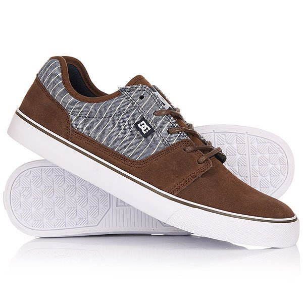 Кеды кроссовки низкие DC Tonik Se Brown/Blue dc shoes кеды dc shoes tonik w se burgundy 8