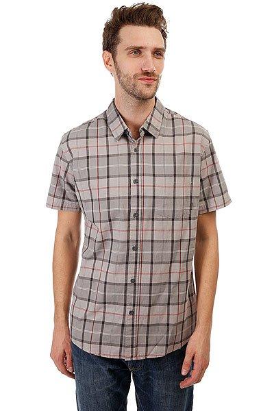 Рубашка в клетку Quiksilver Everydaycheckss Wet Weather Check<br><br>Цвет: серый<br>Тип: Рубашка в клетку<br>Возраст: Взрослый<br>Пол: Мужской